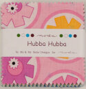 Hubba Hubba - moda fabrics - Charm Pack 42teilig