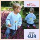 ELIA - Geschwister Hemd, Mehrgrößen Schnittmuster