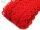 Endlosreissverschluss Spitze rot 1m inkl. 5 Schieber