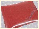 Glitterfolie rot