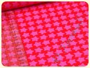 Staaars Cord by Farbenmix pink/rot