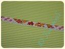 Schrägband mit Häkelborte Bunny Flowers