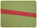 Schrägband Karo rot