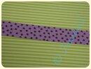 Schrägband Sternchen flieder