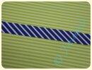 Schrägband Streifen blau