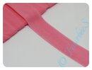 Einfassband/Faltgummi rosa