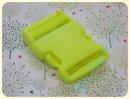 Steckschliesse neongelb 30mm Kunststoff