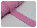 Jersey-Schrägband rosa