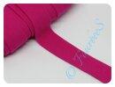 Jersey-Schrägband pink