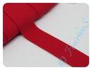 Jersey-Schrägband rot