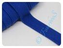 Jersey-Schrägband royalblau