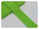 Jersey-Schrägband hellgrün