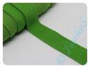 Jersey-Schrägband grün