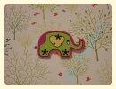 """Knopf """"Elefant Herzchen"""" 28x19mm"""