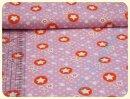 Stars rosa/orange Sweat - Rest 100x150cm