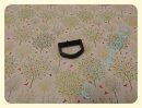D-Ring schwarz 25mm Kunststoff