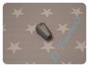 Kordelenden für Kordel 4mm silbergrau