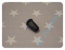 Kordelenden für Kordel 4mm schwarz