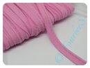 Paspel elastisch uni rosa dunkel