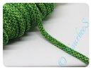 Kordel 8mm grün meliert