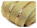 Endlosreissverschluss 5mm gold 1m inkl. 2 Schieber