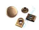 Jeansknopf brüniert 16,8mm