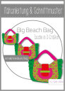 big beach bag Tasche