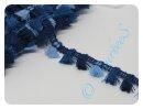 Quastenborte blau