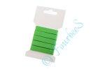 Köperband 10 mm 3m Länge grün