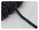 Glitzerkordel 10mm dunkelblau