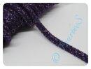 Glitzerkordel 10mm lila