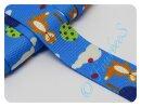 Gurtband 30mm Fuchs blau
