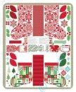 Jingle Weihnachtsstiefel Panel 85x110cm