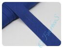 Schrägband uni blau (24)