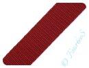Gurtband 20mm bordeaux