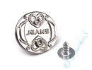 """Jeansknopf """"Heart"""""""