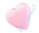 Knopf Herzchen rosa