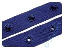 Druckknopfband dunkelblau 18mm