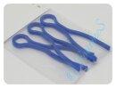 Spulenhalter 3er Set blau