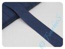Schrägband uni nachtblau (23)