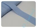 Schrägband uni babyblau (2)