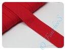 Schrägband uni rot (8)