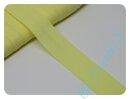 Schrägband uni hellgelb (280)
