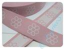 Gummiband 4 cm Blümchen rosa/weiß