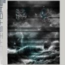 "Panel Nautistore ""Born to dive"" 180x150cm"