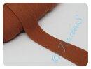 Jersey-Schrägband rost