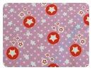 Stars altrosa/orange - Sweat - Rest 100x150cm