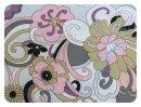 Flowers grau - Rest 100x140cm