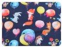 Balloons dunkelblau - Jersey