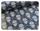 Skulls dunkelblau - Sommersweat
